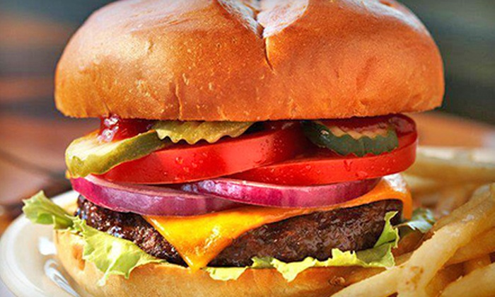 Jack's Prime - San Mateo: $15 for Cheeseburgers, Fries, and Soft Drinks for Two at Jack's Prime ($24.50 Value)