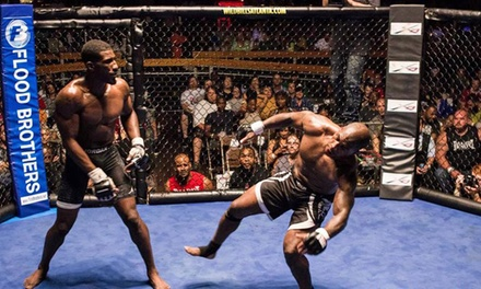 National Fighting Championships: Fight Night at Wild Bill's on Saturday, October 25, at 8 p.m. (Up to 39% Off)