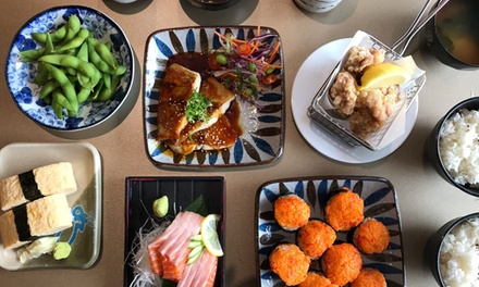 SixCourse Japanese Meal for Two $45 or Four People $90 at Sushi Tengoku Up to $172 Value