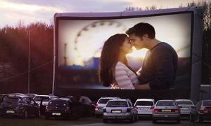 Bärliner Autokino: 2 Kinokarten inkl. Popcorn, Sweet Box und Softdrink im Bärliner Autokino (53% sparen*)
