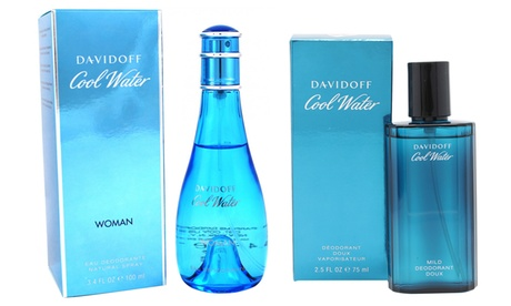 Davidoff Coolwater 75ml or 100ml Deodorant Spray for Men or Women