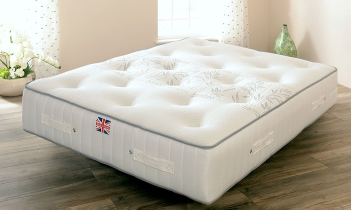 Bamboo Magic Pocket Sprung Mattress from £119 (88% OFF)