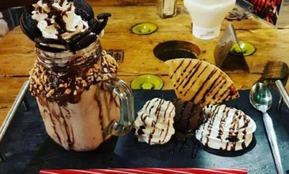 Up to Six Freakshakes at Superheros Dining (Up to 33% Off)