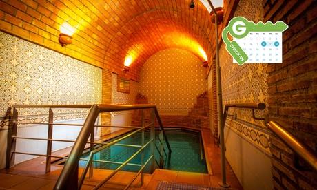 Almería: habitación doble o suite junior con desayuno o media pensión y piscina termal en el Hotel Balneario San Nicolás