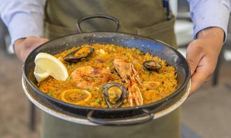 Menú para 2 con entrante, principal, postre y bebida en Restaurante Arrabal (hasta 50% de descuento