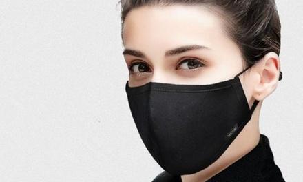 10-Pack of Black Reusable Face Masks