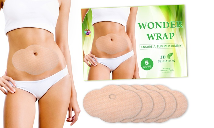 Natural Slimming Body Wraps (5-Pack)
