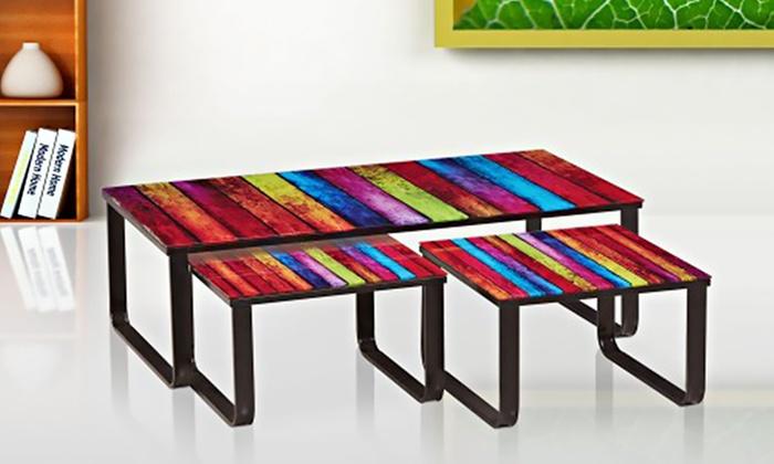 Table Basse Rainbow Basse Lilou Gigogne Table 8wOk0Pn