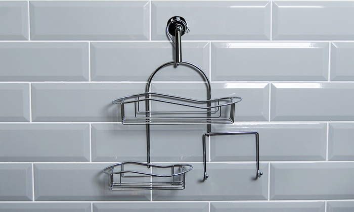 Up To 54% Off Hanging Shower Caddy Organiser | Groupon