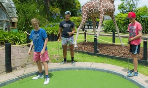 Lilliputt Mini Golf - Safari and T-Rex Alley: 18 Holes of Safari or T-Rex Mini Golf - One ($8), Two ($16) or Six People ($48) at Liliputt Mini Golf (Up to $90 Value)