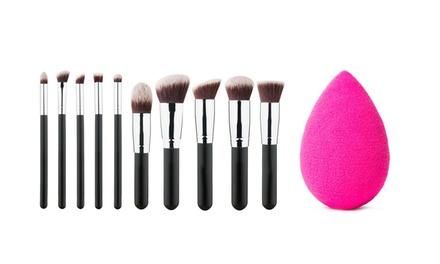 Pinceaux éponge maquillage