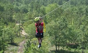 Shallotte River Swamp Park: $79 for a Zipline Excursion for Two at Shallotte River Swamp Park ($158 Value)