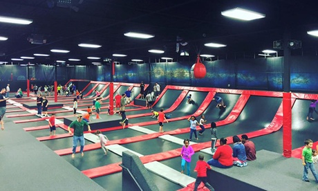 90-Minute Jump Pass or Basic Party Package for up to 10 People at DEFY. Greenville (Up to 39% Off)