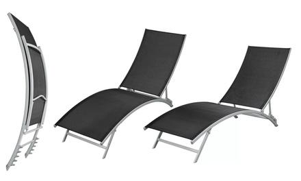 Set 2 sedie pieghevoli da giardino groupon for Groupon giardino