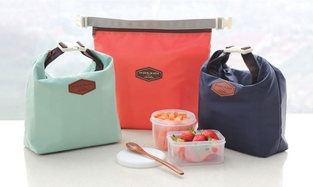 One (AED 39) or Two (AED 69)  Insulated Thermal Lunch Bags