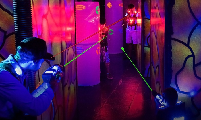 Laserland & Adventure - Doral: Two Games of Laser Tag for Four or Six at Laserland & Adventure (Up to 49% Off)