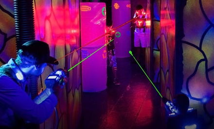 Two Games of Laser Tag for Four or Six at Laserland & Adventure (Up to 55% Off)