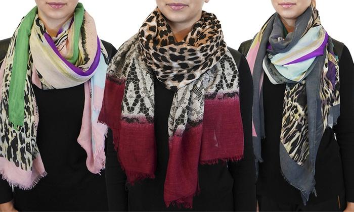 Printed Fashion Scarves: Printed Fashion Scarves