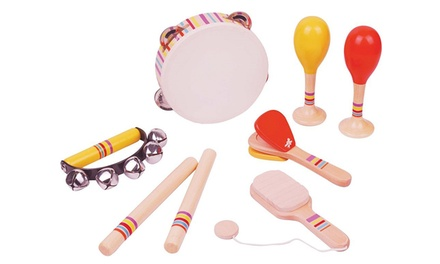 Lelin Wooden Musical Set