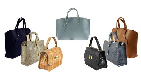 Bolsos de cuero Roberta Rossi disponible en 3 modelos y varios colores desde 39,99€