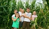Oakes Farm Open Sept And Oct Only - 8: $10 for Two Admissions to Corn Maze, Hayride, and Outdoor Activities at Oakes Farm (Up to $20 Value)
