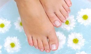 Panamerican Medical Services & Laser Center: 1 or 2 Toenail Fungus Treatments for Both Feet at Panamerican Medical Services & Laser Center (Up to 86% Off)