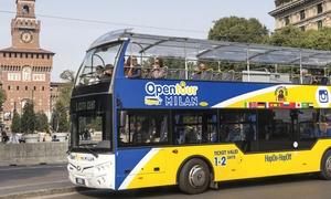 Frigerio Viaggi: MilanOpenTour: giro in bus panoramico alla scoperta degli angoli più suggestivi di Milano (sconto fino a 28%)