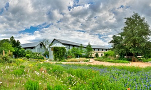 50% Off Admission to Lady Bird Johnson Wildflower Center at Lady Bird Johnson Wildflower Center, plus 6.0% Cash Back from Ebates.