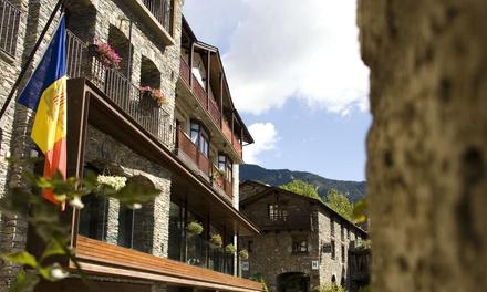 Andorra: hasta 5 noches con late check-out y régimen de media pensión en Hotel Santa Bàrbara de la Vall d'Ordino