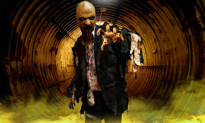 Zombie Contagion Haunted Attraction for Two or Four People (Up to 48% Off). Three Dates Available.