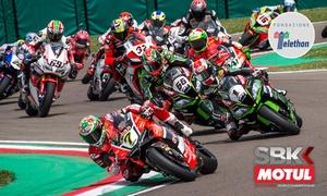 Autodromo Internazionale Enzo e Dino Ferrari di Imola: Mondiale Superbike Italian Round, Imola 2017 - Abbonamento tribuna e ingresso paddock dal 12 al 14 maggio, all'Autodromo