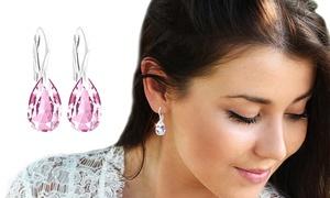 Boucles d'oreilles Ah! Jewellery® ornées de cristaux Swarovski®