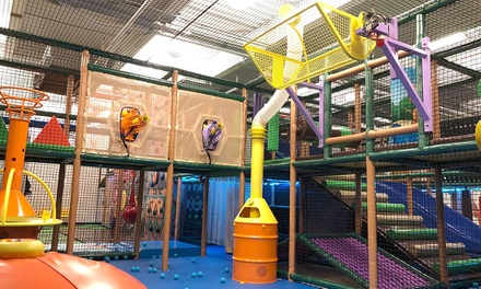 One, Two, or Four Unlimited Junior or Super Passes to Kanga's Indoor Playcenter (Up to 39% Off)