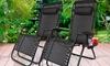 Zero-Gravity Folding Chair
