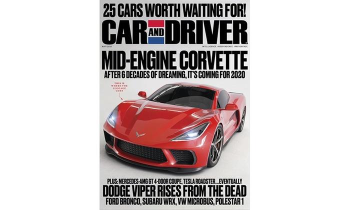Car Driver Magazine Car Driver Magazine Groupon