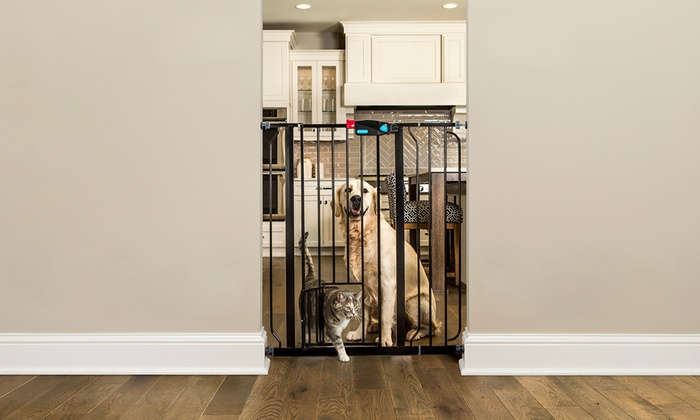 Carlson Pet Products Extra Tall Pet Gate With Door Groupon
