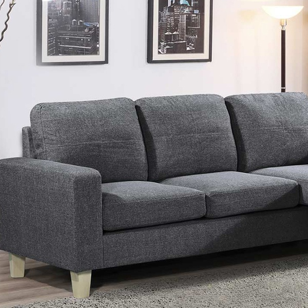 Cool Three Seater Corner Sofa With Movable Chaise In Choice Of Colour With Free Delivery Evergreenethics Interior Chair Design Evergreenethicsorg