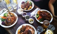Two-Course Sunday Lunch for Two or Four at The Tudor House Inn