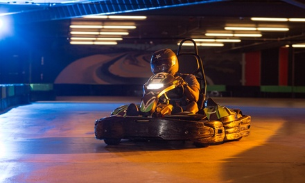 Fun and Games Package for One, Two, or Four People at Andretti Indoor Karting and Games (Up to 44% Off)