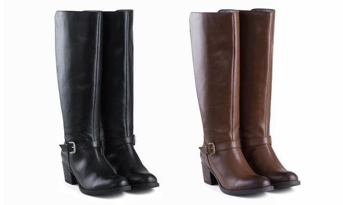 Groupon Goods Global GmbH: Bottes Redfoot pour femme en cuir