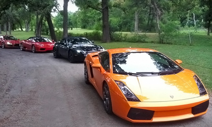 DFW Drive Your Dream - Haltom City: One-Hour Tour in a Lamborghini Gallardo or Two-Hour Tour in Four Exotic Cars from DFW Drive Your Dream (Up to 72% Off)