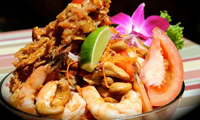 Deejai Thai Restaurant - Eastover: Thai Cuisine and Sushi at Deejai Thai Restaurant (Up to 45% Off)