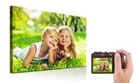Toile photo personnalisée avec 6formats au choix sur Printerpix dès 3,95 € (jusquà 87 % de réduction)
