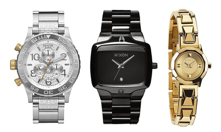 for a Nixon Watch in Choice of Style Don't Pay up to $699.99