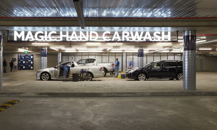 Superior Wash $45, Mini Detail $99 or Full Detail $149 at Magic Hand Carwash, Chermside Up to $299 Value