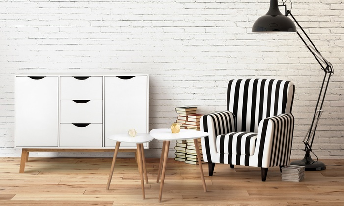 White Vigo Chest of Drawers
