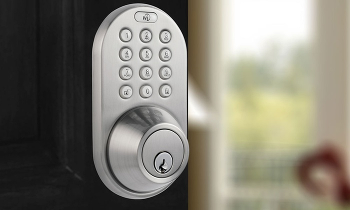 Milocks Keyless Entry Touchpad Door Lock Groupon
