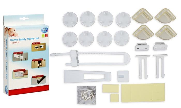 kit de s curit pour b b groupon. Black Bedroom Furniture Sets. Home Design Ideas