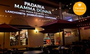 Mamma Donna Pizza e Cucina: 1 ou 2 pizzas grandes na Mamma Donna – Jardim Goiás