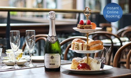 High Tea with Sparkling Wine for One on a Weekday ($28) or Weekend ($30) at Cicchetti Restaurant & Wine Bar ($50 Value)
